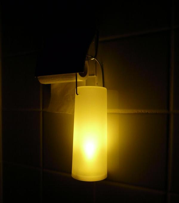 Toiletlampe