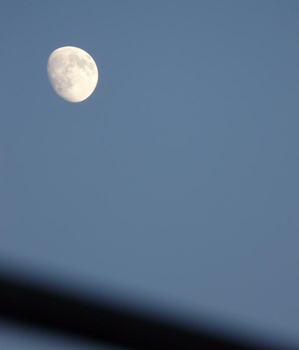 Måne på vej mod nytår